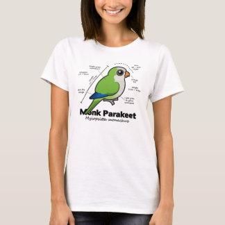 Statistiques de perruche de moine t-shirt