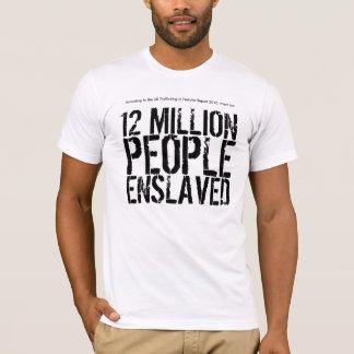 Statistiques de T-shirt d'esclavage (hommes)