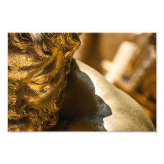 Statuaire d'or à Versailles Tirage Photo