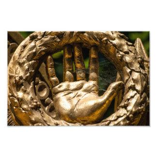 Statuaire d'or à Versailles Photo Sur Toile