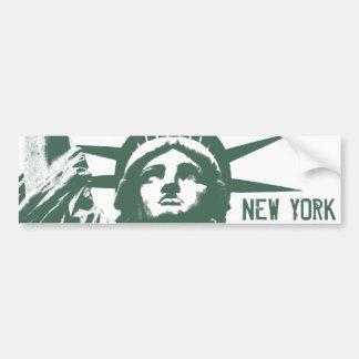 Statue d'adhésif pour pare-chocs de New York des a Autocollant Pour Voiture