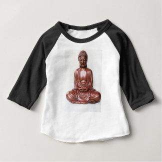 Statue de Bouddha - rouge foncé, minimal T-shirt Pour Bébé