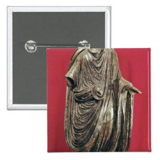 Statue de César Julianus Pacatianus Badges
