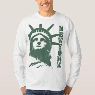 Statue de chemise de souvenir de New York de T-shirt