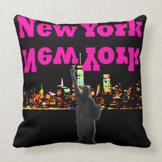 Statue de coussin de voyage de New York NYC de