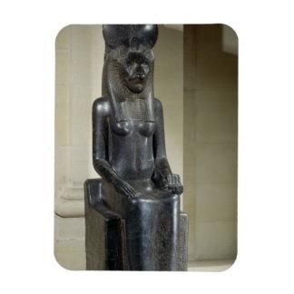 Statue de la déesse lion-dirigée Sekhmet, du Th Magnet En Vinyle