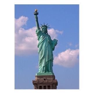 Statue de la liberté 003 carte postale