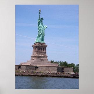 Statue de la liberté - affiche à pleine vue