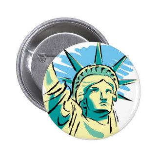 Statue de la liberté badge