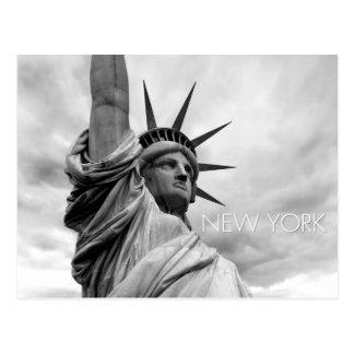 statue de la liberté carte postale