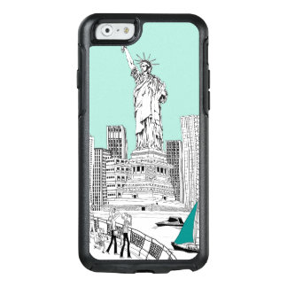 Statue de la liberté coque OtterBox iPhone 6/6s