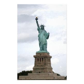 Statue de la liberté motifs pour papier à lettre
