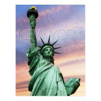 statue de la liberté New York Carte Postale