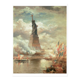 Statue de la liberté, New York circa 1800's Cartes Postales