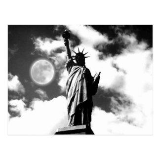 Statue de la liberté New York City Carte Postale