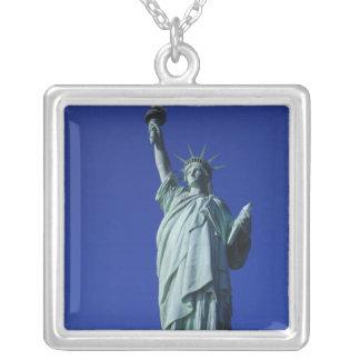 Statue de la liberté, New York, Etats-Unis 4 Pendentif Carré