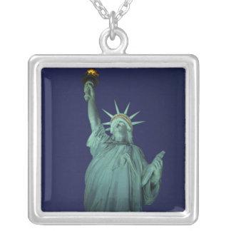 Statue de la liberté, New York, Etats-Unis 6 Pendentif Carré