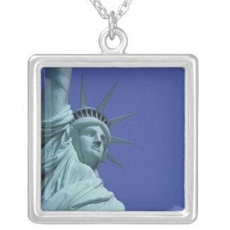 Statue de la liberté, New York, Etats-Unis 9 Pendentif Carré