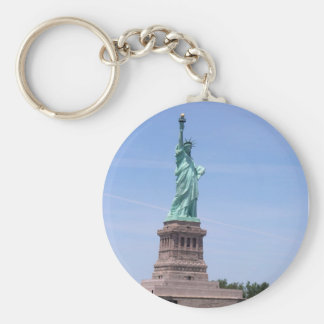 Statue de la liberté - porte - clé à pleine vue porte-clés