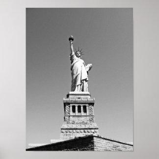 Statue de la liberté poster