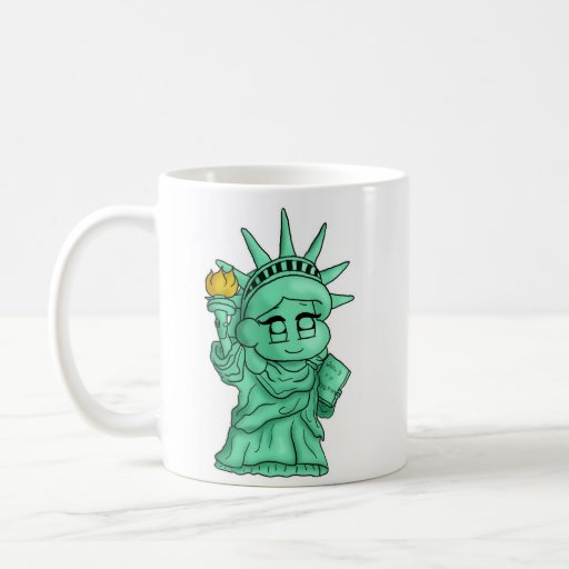 Statue de la liberté tasse
