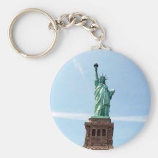 Statue de porte - clé de liberté porte-clés