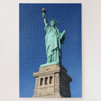 Statue de puzzle de liberté