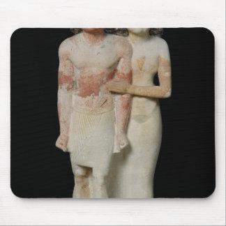 Statue de Raherka et de Meresankh, vieux royaume Tapis De Souris