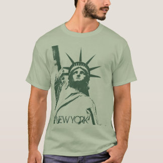 Statue de T-shirt de base de New York de T-shirt