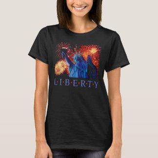 Statue du T-shirt Etats-Unis New York de liberté