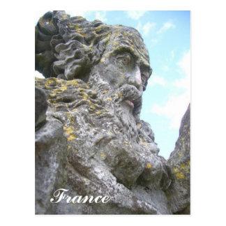 Statue postale de joli de d'un de carte d'Une Cartes Postales