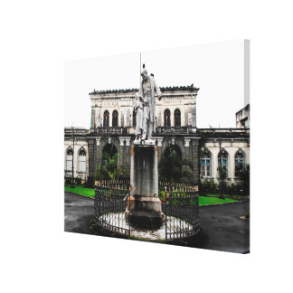 Statue Victor Schoelcher en Martinique Toiles