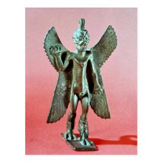 Statuette de Pazuzu, un démon assyrien de vent Carte Postale