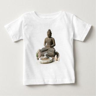 Statut de Bouddha (arrière - plan blanc) T-shirt Pour Bébé