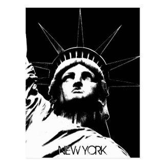 Staue de carte postale faite sur commande de New Y