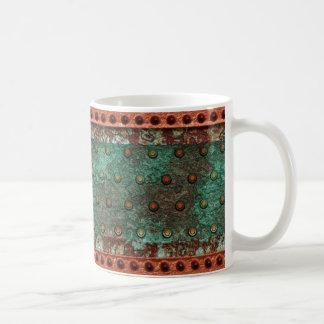 Steampunk 1 mug blanc