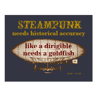 Steampunk a besoin de carte postale