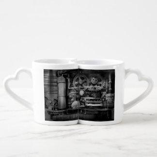 Steampunk - acier sérieux mugs amoureux