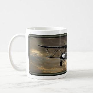 Steampunk Airplane Coffee Cup - il Effiloche du Ca