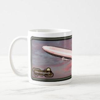Steampunk Airship Coffee Cup - il Effiloche du caf