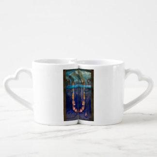 Steampunk - alphabet - U est pour Utopie Mugs Amoureux