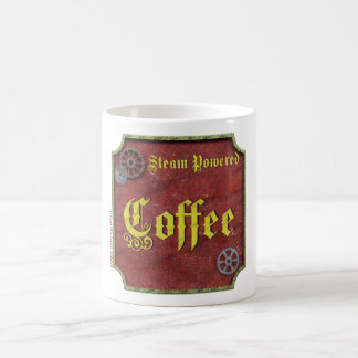 Steampunk Coffee Cup - il Effiloche du café Steam  Mug Blanc