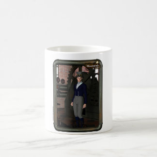 "Steampunk Coffee Cup «The Factory "" Mug Blanc"
