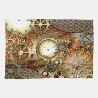 Steampunk, conception impressionnante de steampunk serviettes éponge