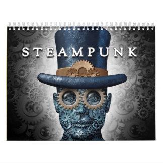 Steampunk et calendrier de punk de vapeur