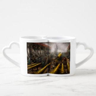 STEAMPUNK - Guerre - nous sommes prêts Set Mugs Duo