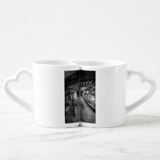 Steampunk - le tunnel de vapeur set tasses duo