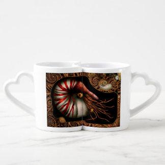 Steampunk - Nautilus - sortir de votre coquille Tasse Duo