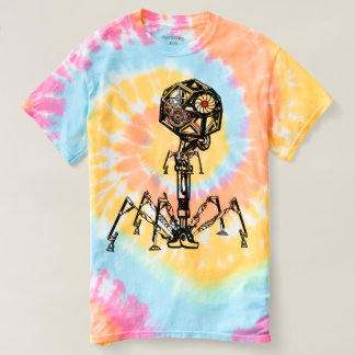 Steampunk_Phage dans la couleur vivante T-shirt