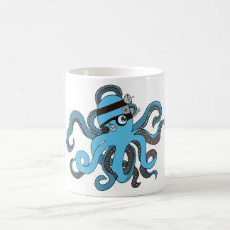 Steampunk pieuvre mug magique